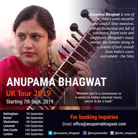 Anupama Bhagwat - UK Tour 2019